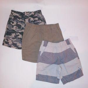 Set of 3 Wonderkids Boys Shorts
